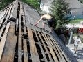 Перекрыть крышу дома с шифера на металлочерепицу в Запорожье