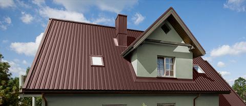 Монтаж кровли крыши из профнастила в Запорожье по низким ценам