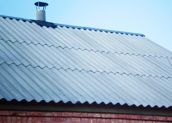 Кровля крыши шифером в Запорожье по низким ценам, монтаж шифера и кровельные работы