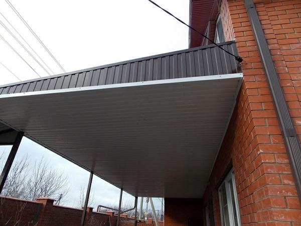 Металлические водостоки для крыши своими руками