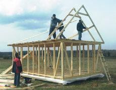 Строим своими руками крышу частного дома, бани, беседки, гаража