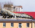 Аварийный ремонт мягкой кровли крыши дома в Запорожье